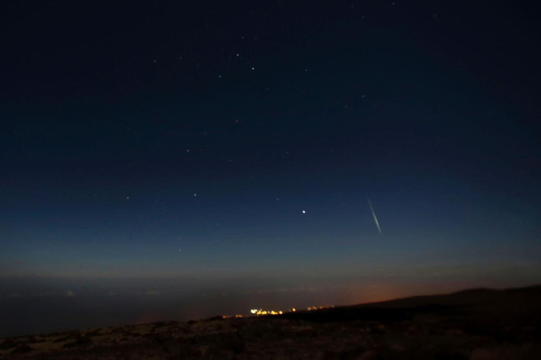 Geminiderne, som er en meteorsværm - eller en stjerneskudsstorm - kan ses fra Jorden hvert år i december. (Arkivfoto) Desiree Martin/Ritzau Scanpix