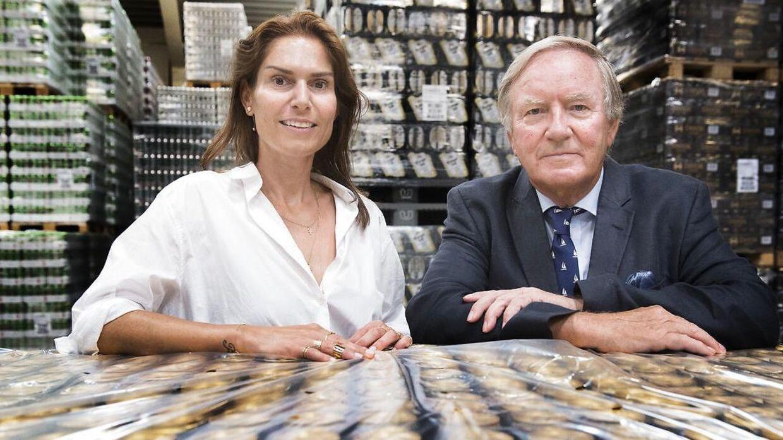 Det var ikke længe Bernd Grieses mellemste datter, Karina Harboe Laursen, fik liv til at være administerende direktør i familievirksomheden.