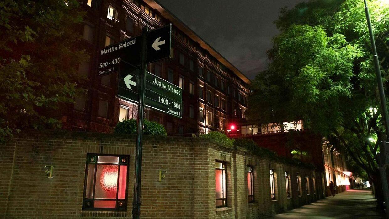 Faena Hotel, hvor den britiske turist blev skuddræbt.