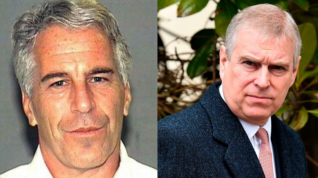 Prins Andrews forhold til Jeffrey Epstein (tv.) har skabt problemer for prinsen.
