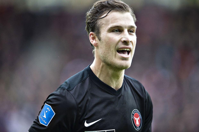 FC Midtjylland-stopperen Erik Sviatchenko er af Superliga-trænerne kåret som 'Efterårets Profil'.