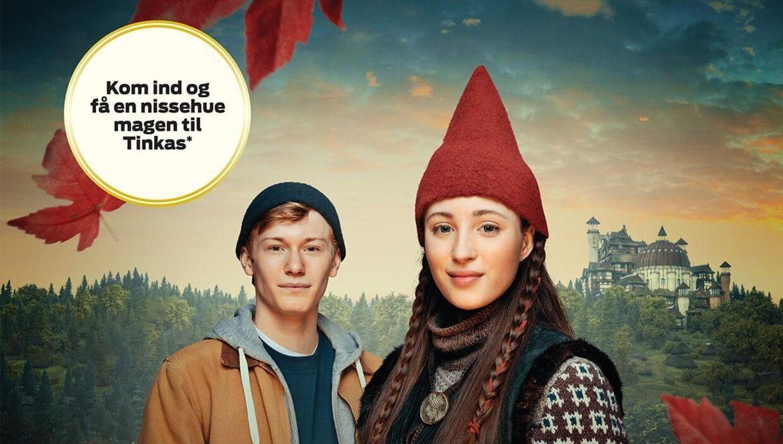TV2 og Ford har lovet landets børn en rød nissehue magen til Tinkas – men mange går forgæves.