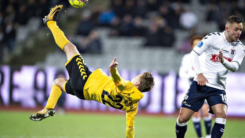 AC Horsens sælger Kasper Junker.