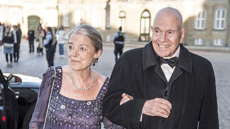Birgitta Hillingsø og generalløjtnant Kjeld Hillingsø er en fast del af dronning Margrethes vennekreds.