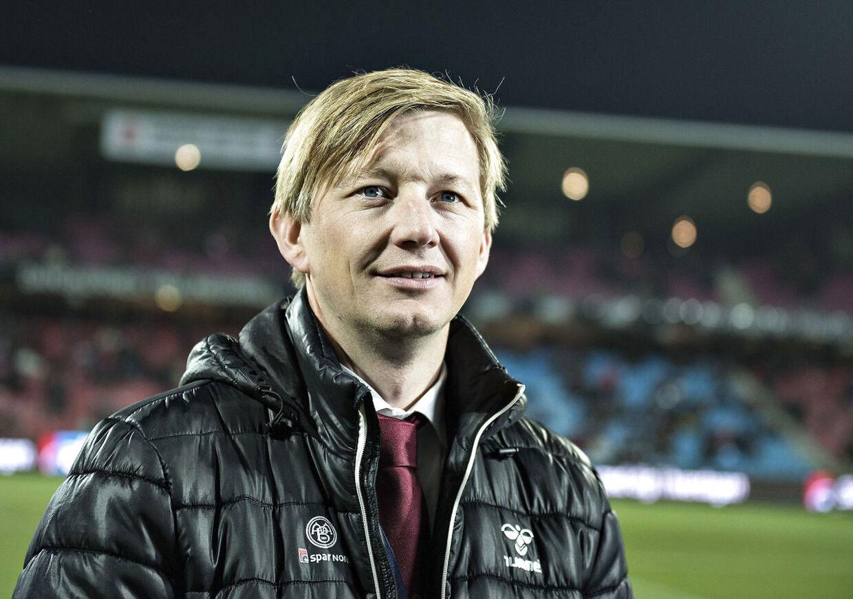 Inge André Olsen tager over, hvor Allan Gaarde (billedet) slap, da han i oktober i år blev fyret som sportsdirektør i Superliga-klubben AaB.