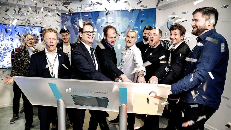 Astralis Group blev børsnoteret hos Nasdaq First North i København i sidste uge.