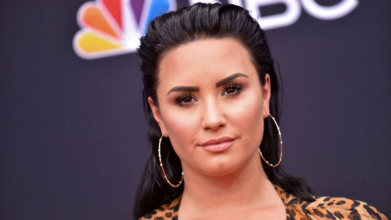Demi Lovato fotograferet i maj 2018.