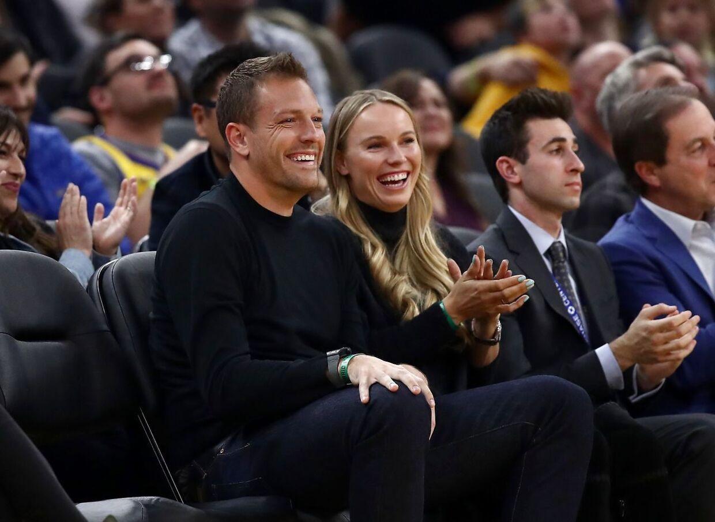 David Lee og Caroline Wozniacki blev gift tidligere i år.