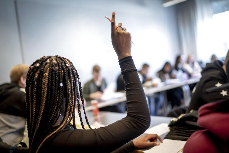 Katrine Fischer mener, at undervisningen er for ringe på gymnasiet, blandt andet fordi eleverne mangler motivation (arkivfoto).