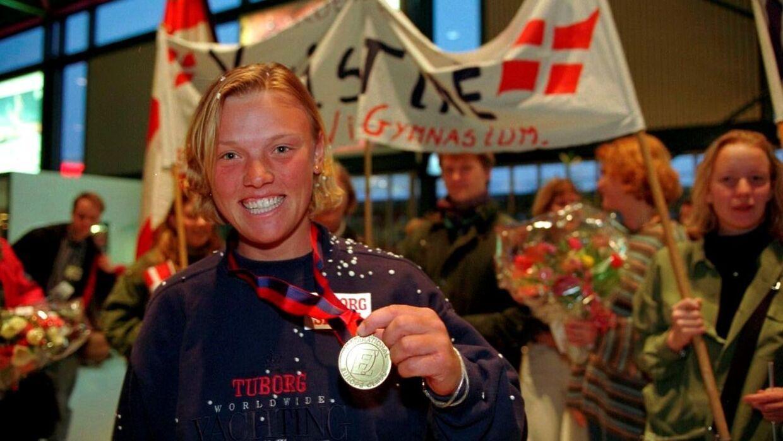 Kristine Roug vandt OL-guld i 1996.