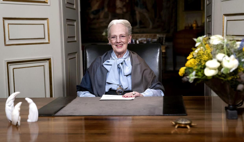 Dronning Margrethes nytårstale 2019.