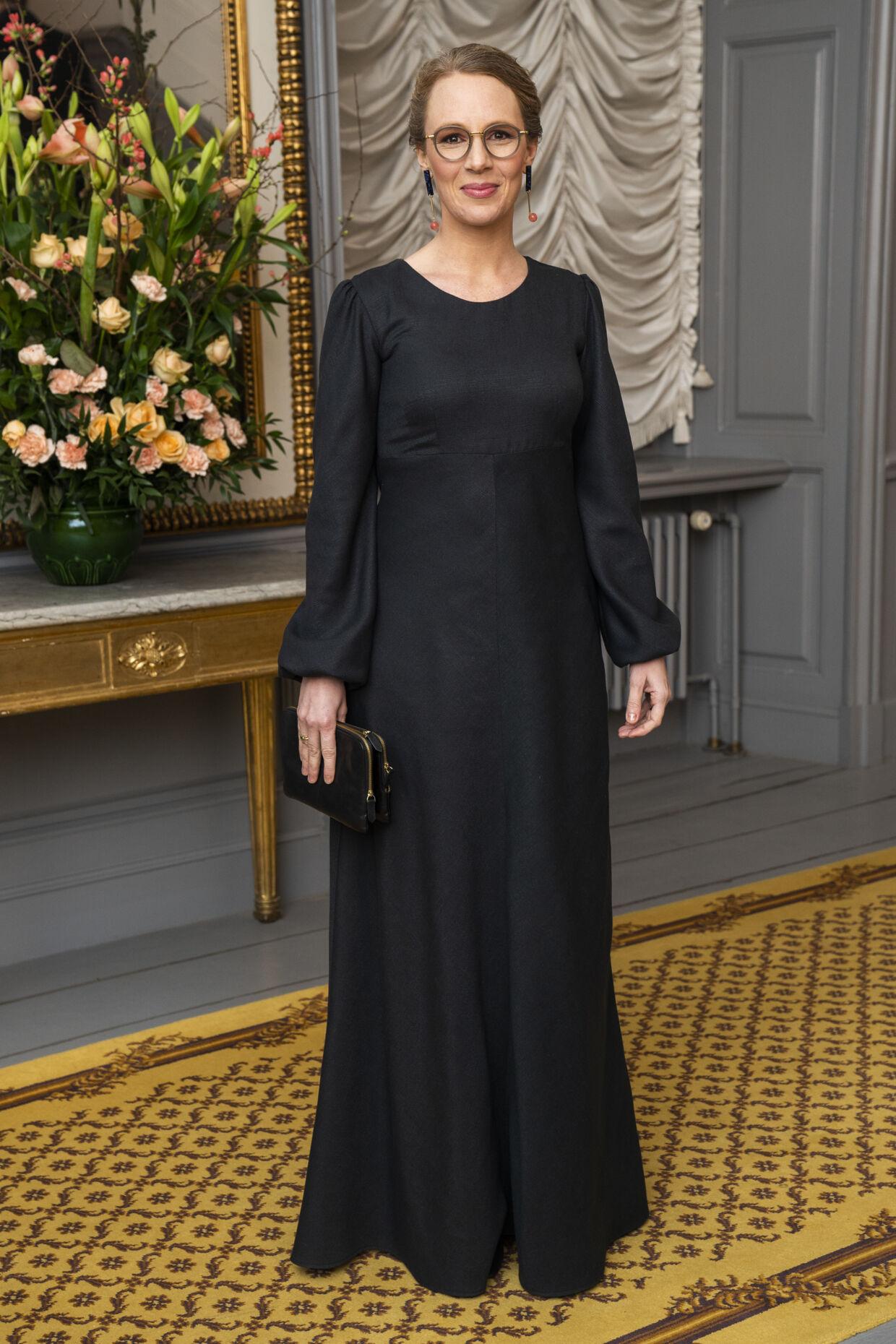 Miljøminister Lea Wermelin havde taget aftenens dårligste valg med kjole, lød det fra modeeksperten. (foto: Martin Sylvest/Ritzau Scanpix 2019)