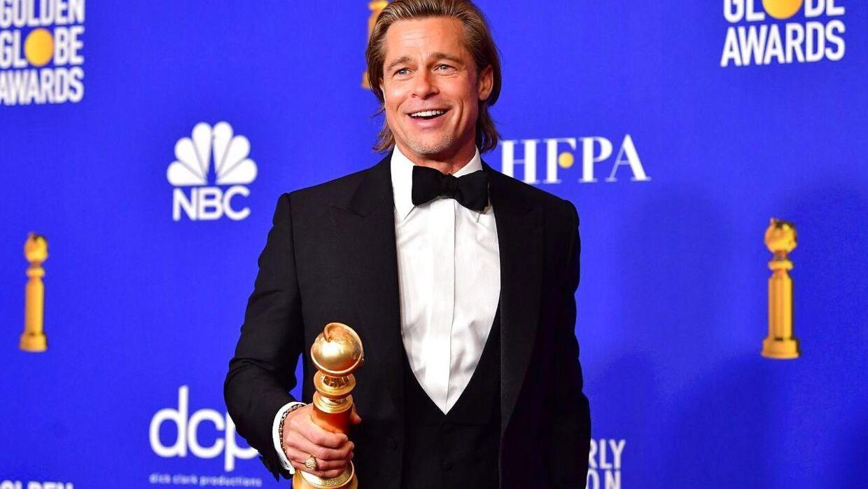 Brad Pitt vandt en Golden Globe for bedste mandlige birolle.