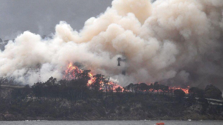 Store brande hærger Australien.