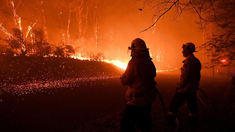 Store brande hærger i Australien, og røgen giver store gener.