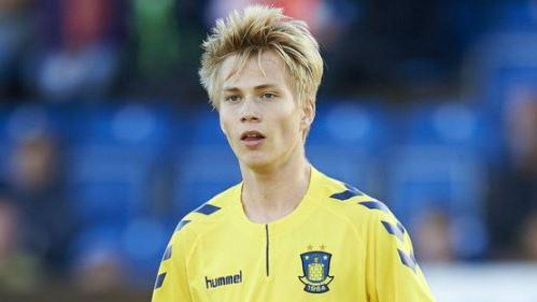 Magnus Warming ryger til Lyngby fra Brøndby.