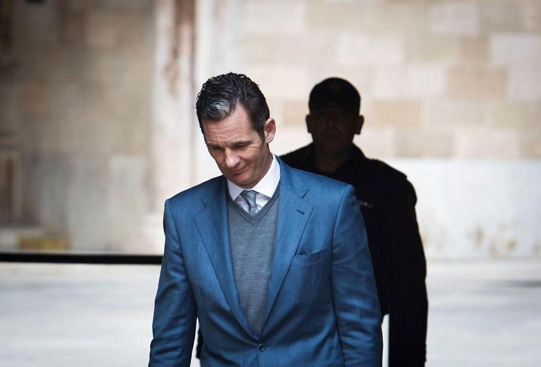 Den tidligere håndboldstjerne og hertug af Palma de Mallorca blev i 2017 dømt for svindel.