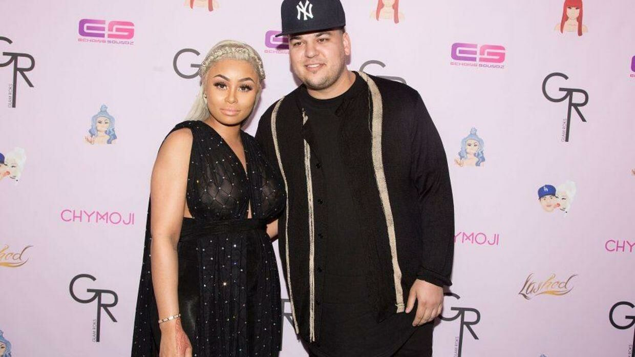 Rob Kardashian og Blac Chyna. (Foto: Getty Images)