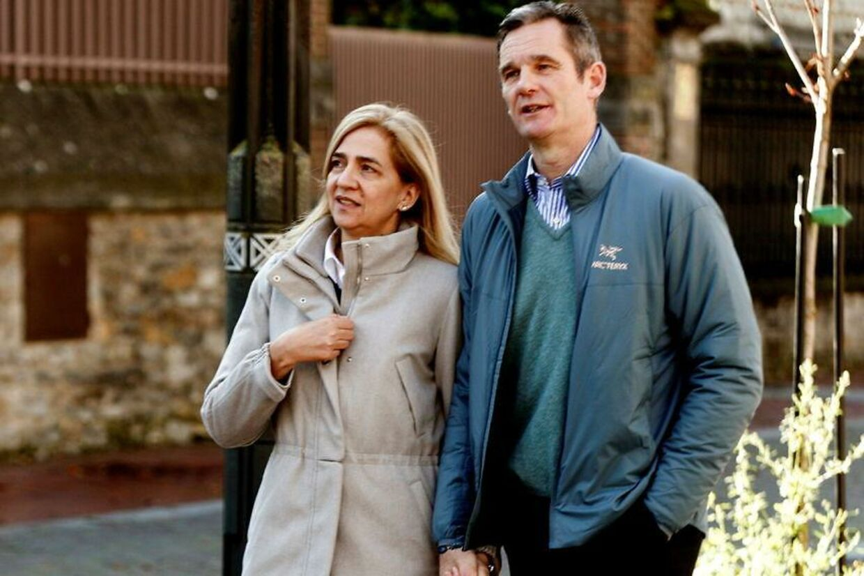 Kong Felipes svindeldømte svoger var i julen på sin første længerevarende udgang fra fængslet og kunne dermed fejre jul med sin familie.