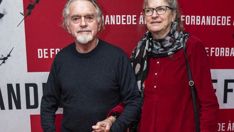 Erik Clausen og Pernille har været sammen i mere end 50 år (foto: Martin Sylvest/Ritzau Scanpix 2019)