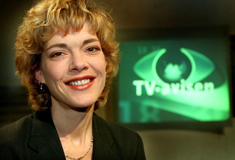 Eva Jørgensen, som mange husker hende fra TV-avisen.