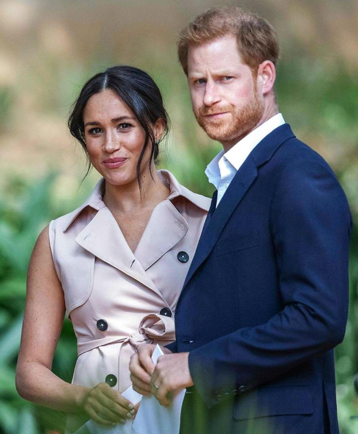 Hertuginde Meghan og prins Harry.