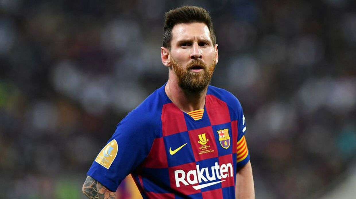 Soccer Football - Spanish Super Cup - Semi Final - FC Barcelona v Atletico Madrid - King Abdullah Sports City, Jeddah, Saudi Arabia - January 9, 2020 Barcelona's Lionel Messi REUTERS/Waleed Ali