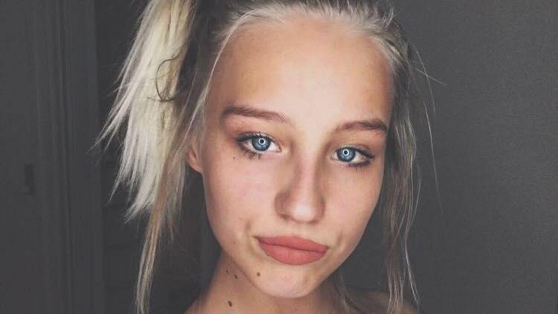 Mia Nørgaard er en af de unge piger, som har modtaget en henvendelse fra 'den falske' Tanja Grunwald.
