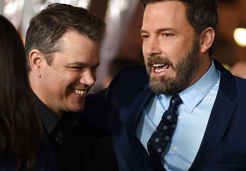 Matt Damon og Ben Affleck har haft et nært venskab siden de var helt unge og har aldrig været bange for åbentlyst at vist deres kærlighed til hinanden.