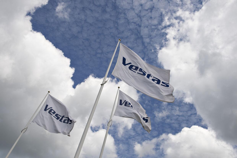 Vestas har valgt at afbryde samarbejdet med selskabet IngenCO2.dk og har fjernet et klimaneutralt logo fra sin hjemmeside. (Arkivfoto) Henning Bagger/Ritzau Scanpix
