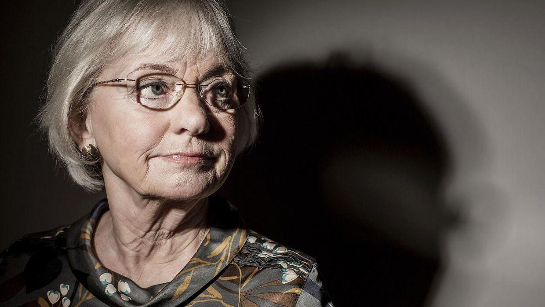 Pia Kjærsgaard fra Dansk Folkeparti.