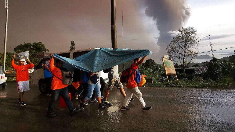 Flere tusinde borgere er blevet evakueret.