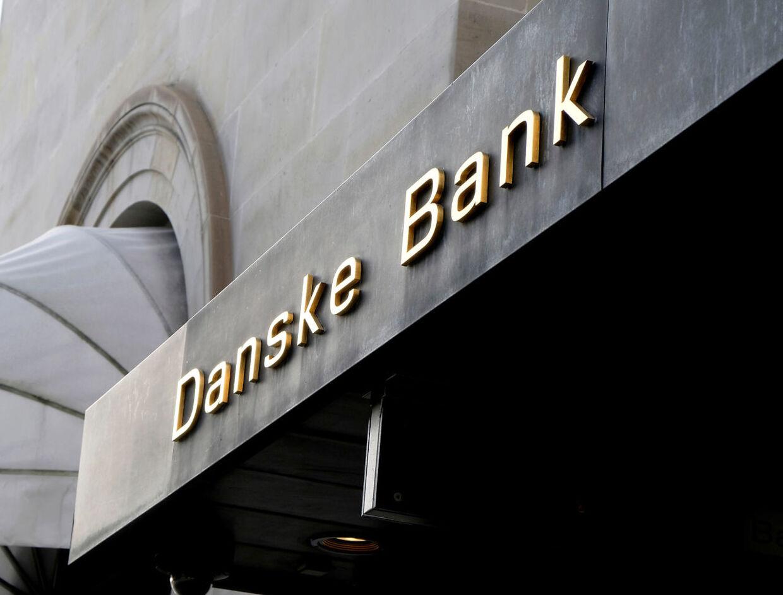 FILE PHOTO: A Danske bank sign is seen on a bank's headquarters in Copenhagen, Denmark October 22, 2019. REUTERS/Nikolaj Skydsgaard/File Photo