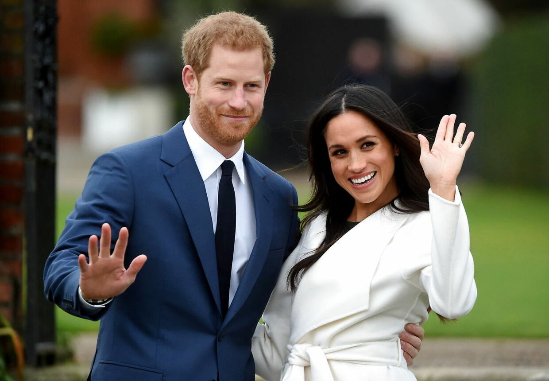 ARKIVFOTO af prins Harry og hertuginde Meghan.