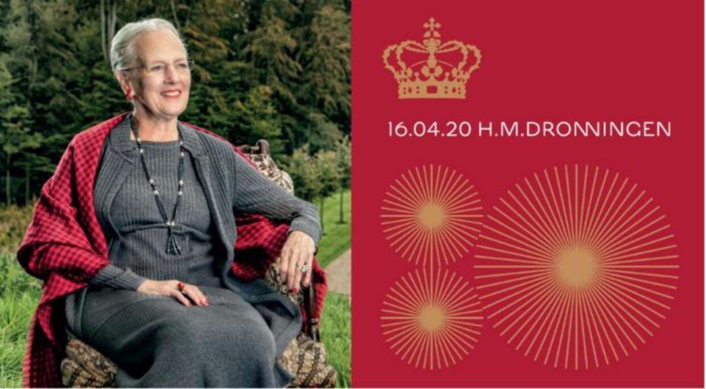 Dette billede er blevet taget af H.M Dronningen i forbindelse med hendes 80-års fødseldag.