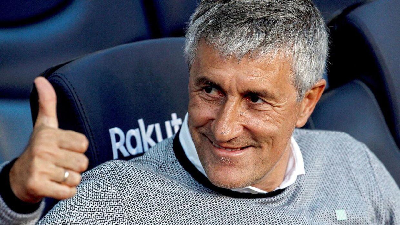 Quique Setién er ny FC Barcelona-træner.