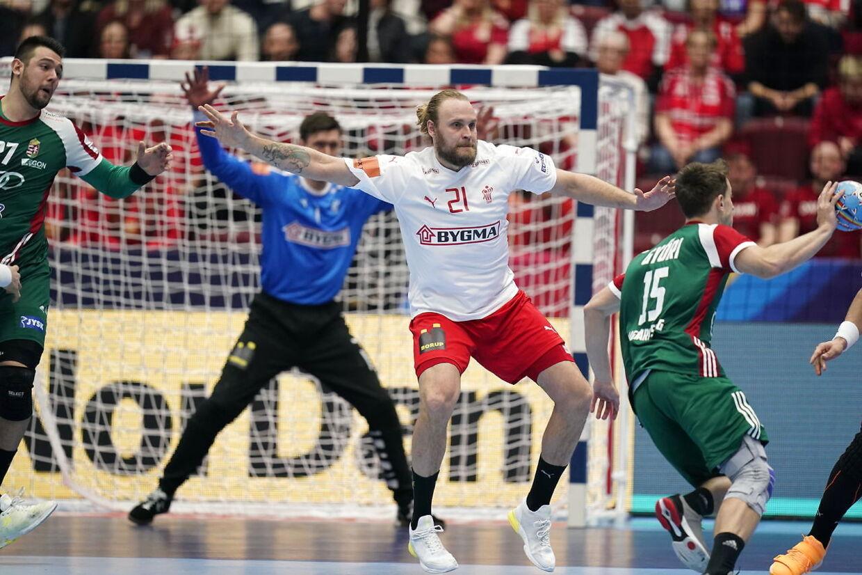 EM herrehåndbold gruppe E: Danmark - Ungarn i Malmø Arena i Sverige, mandag den 13 januar 2020