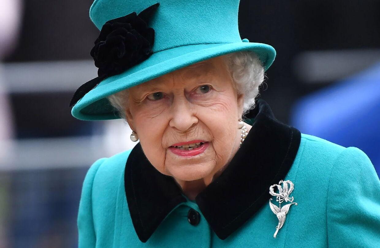 Dronning Elizabeth vidste angiveligt intet om Harry og Meghans planer. (Arkivfoto)