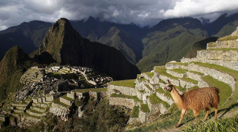 Denne udsigt fotograferer næsten alle Machu Picchus besøgende.