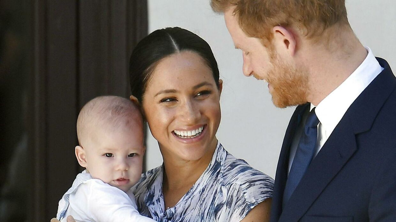 Prins Harry og Meghan Markle har sammen sønnen, Archie.