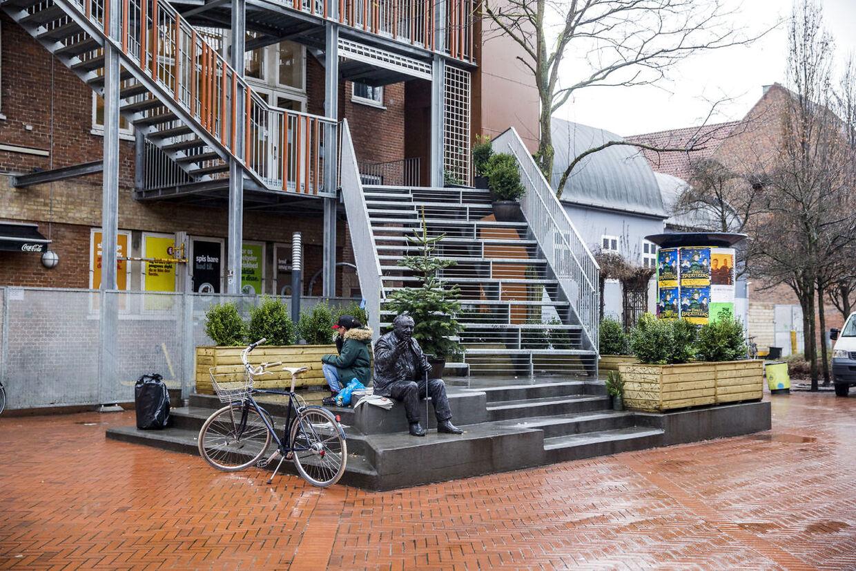Problemer ved Anker Jørgensens Plads i Sydhavnen.