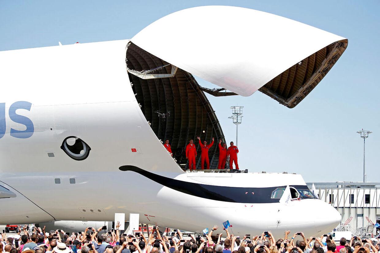 Lastelemmen er seks meter længere og en meter bredere på den nye Beluga XL.