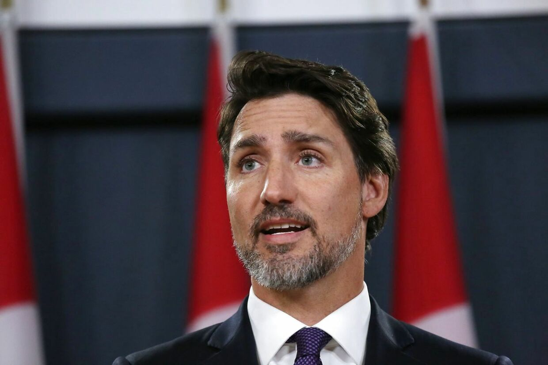 Den canadiske premierminister Justin Trudeau er som udgangspunkt positiv over udsigten til, at Harry og Meghan flytter til Canada, men udtaler samtidig, at detaljerne i planerne stadig bliver drøftet. (Arkivfoto)