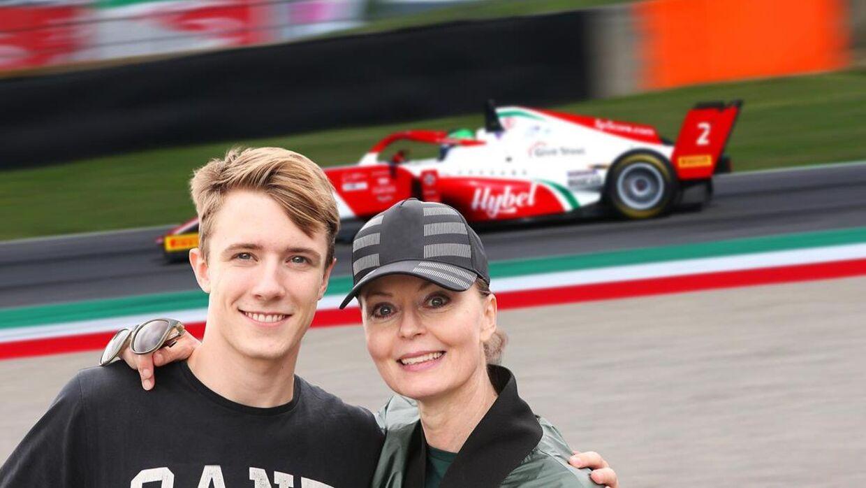 Dorte Riis Madsen er tilbage i motorsporten som manager for unge Frederik Vesti. (@riisphotography)