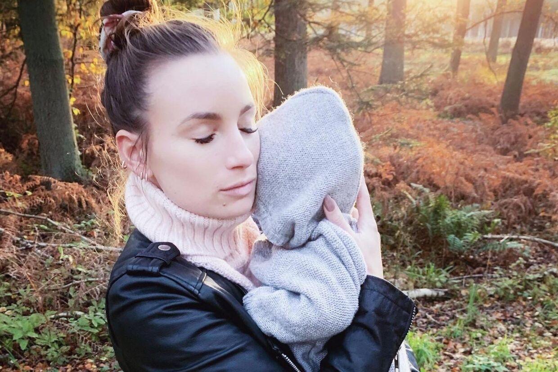 At blive mor er vidunderligt, siger Claudia Rex. Her med sønnen Zacharias, som nu er et halvt år.