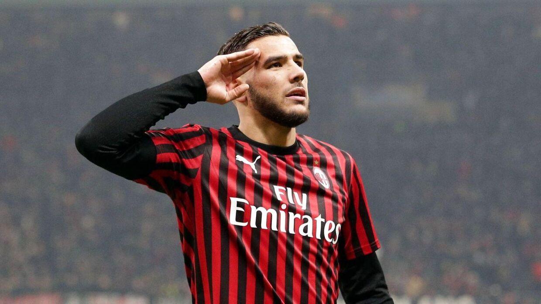Franske Theo Hernandez skiftede i denne sæson fra Real Madrid til AC Milan.