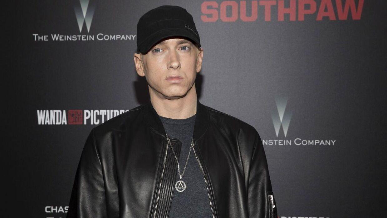 Eminem har smidt 20 nye sange på Spotify og de andre streamingtjenester. (Foto: Scanpix)