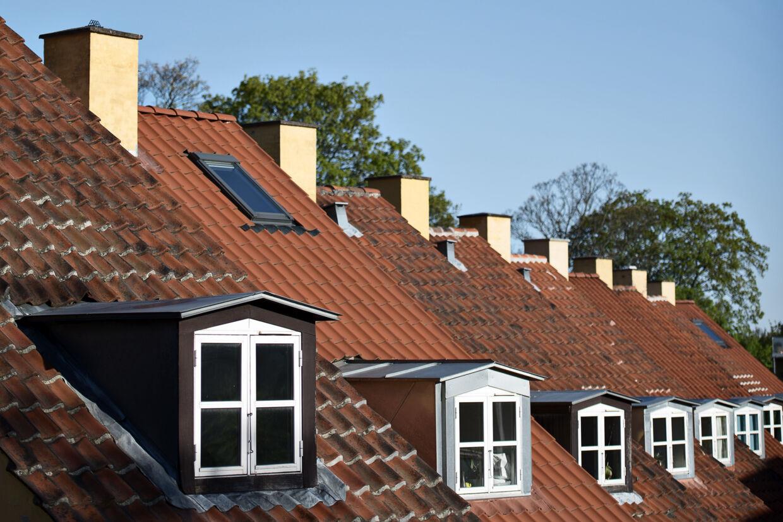 - Det er ikke længere populært at have gæld til langt op over  skorstenen, skriver boligøkonom Lise Nytoft Bergmann ovenpå udlånstal for 2019. (Arkivfoto) Mathias Løvgreen Bojesen/Ritzau Scanpix