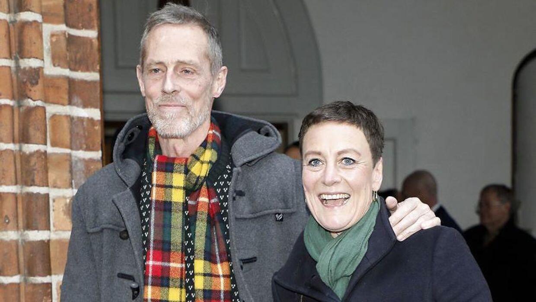 Kim Faber og Janni Pedersen er sluppet bedre end godt fra deres debut som krimiforfattere. (Foto: Scanpix)