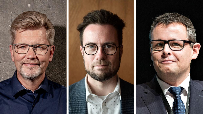 Mange borgmestre tjener fortsat styrtende på at bijobbe i bestyrelser. Det sker, selv om borgmestrene fik en lønforhøjelse på 30 pct. fra 1. januar 2017. FOTO: Asger Ladefoged, Henning Bagger, Malene Anthony Nielsen.